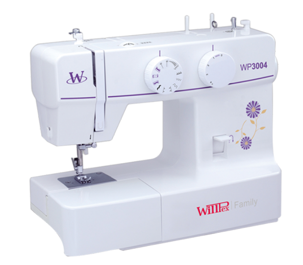 MAQUINA DE COSER WILLPEX WP-3004 FAMILIAR