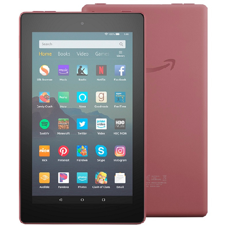 "TABLET AMAZON FIRE 8"" 32GB PLUM"