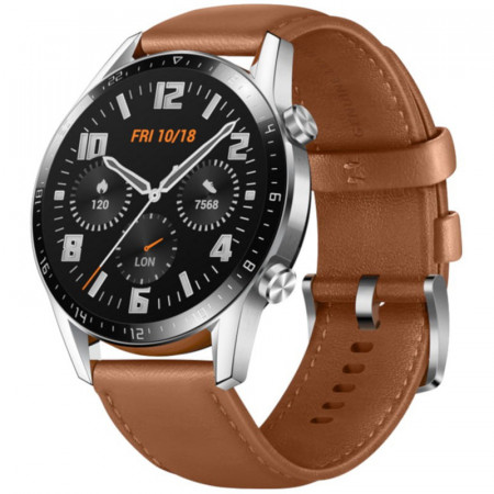 RELOJ SMART HUAWEI WATCH GT2 46MM MARRON LTN-B19