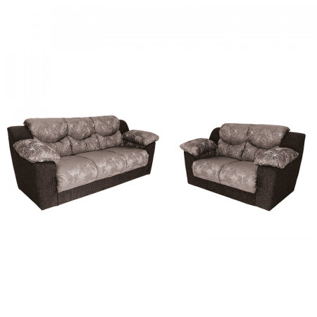 NOBILE SOFA CANCUN GRIS FLORAL 3X2